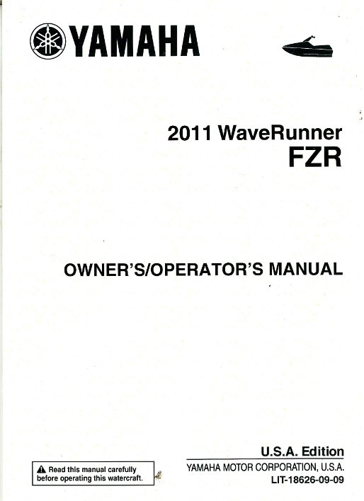 Yamaha Fzr Owners Manual