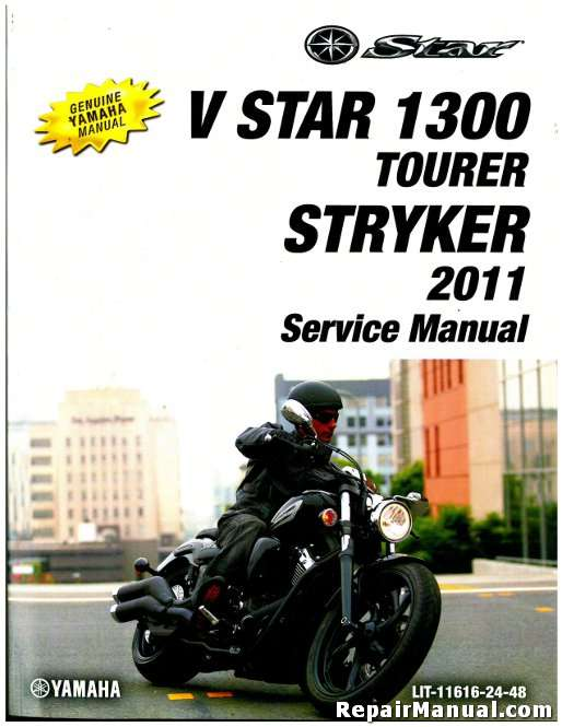2011 2014 yamaha xvs13c v star stryker 2011 2017 tourer motorcycle rh repairmanual com 2012 yamaha stryker owners manual yamaha stryker service manual free download