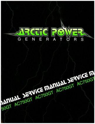 Official Arctic Cat 750GT Generator Shop Manual