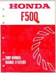 Official Honda F500 Rotary Tiller Shop Manual
