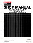 Official Honda FR500 And FR700 Tiller Shop Manual