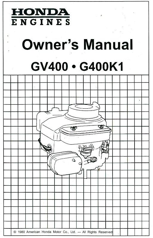 honda gx140 parts manual