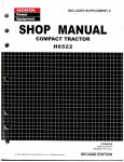 Official Honda H6522 Compact Tractor Shop Manual