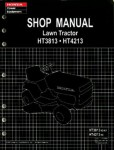 Official Honda HT3813 HT4213 Lawn Tractor Shop Manual