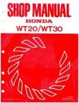 Official Honda WT20 And WT30 Water Pump Shop Manual