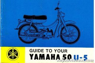 Official 1965 Yamaha 50 U-5 Mate Riders Manual