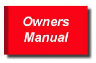 Official 2009 Kawasaki EX250J Ninja 250R Factory Owners Manual