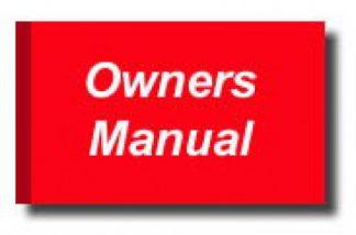 Official 2005 Honda 919 Factory Owners Manual