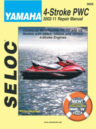 Seloc 2002-2011 Yamaha Personal Watercraft All 4 Stroke Repair Manual