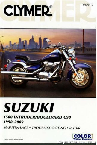 Suzuki 1500 Intruder Boulevard C90 Repair Manual 1998-2009 Clymer