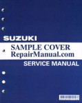 Used Official 1996-1999 Suzuki GSX-R750 Factory Service Manual