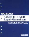 Used 1998-2001 Suzuki GSX600F Katana Motorcycle Factory Service Manual