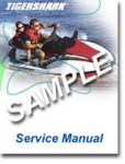 Official 1997 Tigershark Montego and Monte Carlo 640 Service Manual