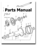 Massey-Ferguson MF50C Dsl Ind Tractor ONLY Factory Parts Manual