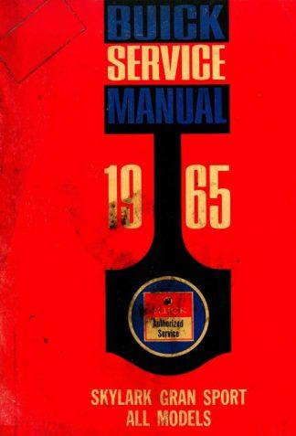 1965 Buick Skylark Gran Sport Service Manual