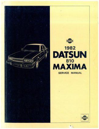 1982 Datsun 810 Maxima Factory Service Manual