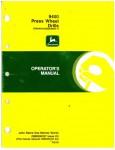 Used John Deere 9400 Press Wheel Drills Operators Manual