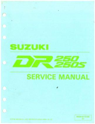 Used 19881993 Kawasaki KX60 KX80 KDX80 Service Manual