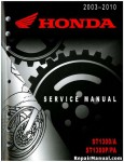 Used Official 2003-2010 Honda ST1300 A P PA Factory Service Manual