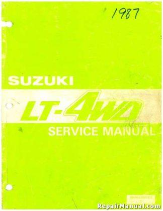 1987-1995 Suzuki LT-4WD Factory Service Manual
