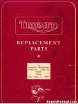 Triumph Replacement Parts for 1955 Models