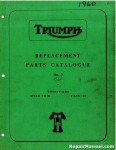 Triumph Replacement Parts for 1960