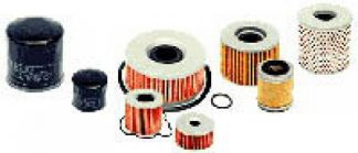 Vesrah Oil Filter for 1982-1983 Honda FT500 Motorcycle SF-1003
