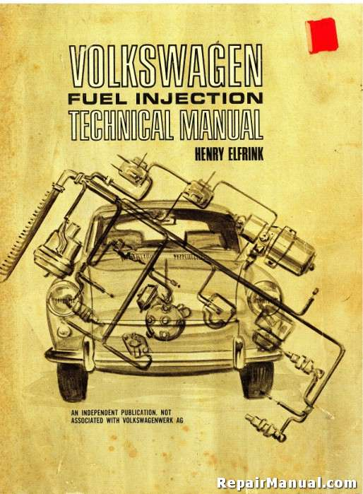 Category/volkswagen >> Used Volkswagen Type 3 Fuel Injection Technical Manual