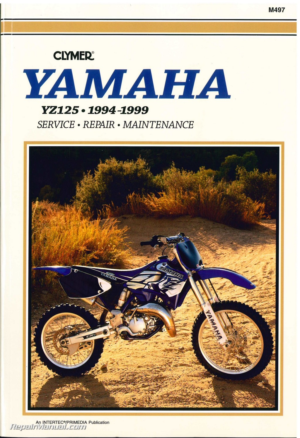 1994 1999 yamaha yz125 two stroke motorcycle repair manual by clymer rh repairmanual com