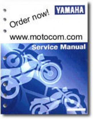 Used Official 2002 Yamaha PW50P1 Owners Service Manual