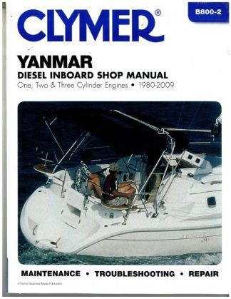 Clymer Yanmar Diesel Inboard Shop Manual - One, Two, Three Cylinder